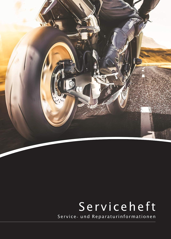 Lobsinger Motorrad Serviceheft Scheckheft FÜr Alle Hersteller Und Modelle Geeignet Blanko Wartungsheft Inkl Tuning Bereich Auto