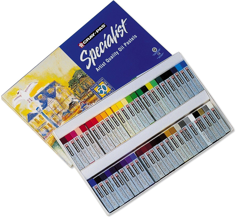 Sakura ESP50 50-Piece Cray-Pas Specialist Assorted Colors Oil Pastel Set, 2 Sets by Sakura