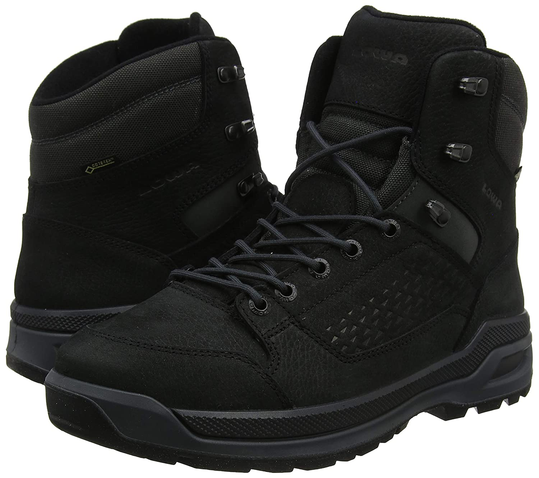 Zapatos de High Rise Senderismo para Hombre Lowa Locarno Ice GTX Mid