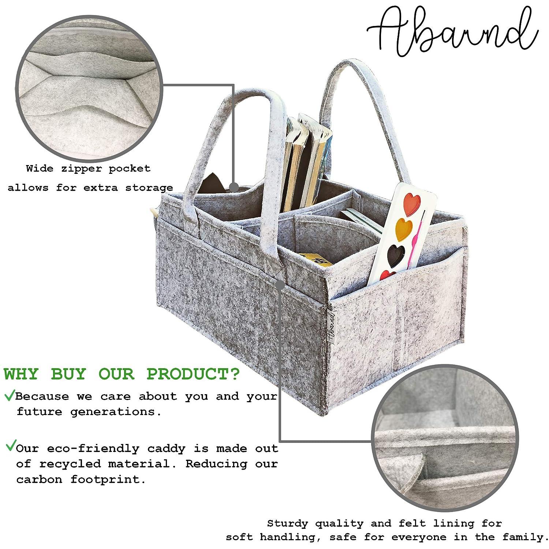 Amazon.com: Abaund, organizador de pañales para bebé, bolsa ...