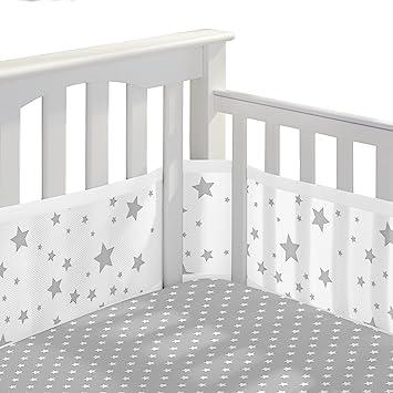 Amazon.: BreathableBaby 3pc Classic Crib Bedding Set – Star