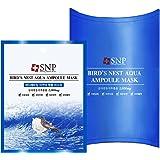SNP Bird's Nest Aqua Ampoule Mask 10 pcs