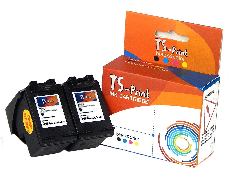 TS-Print Cartuchos de Tinta HP 302XL Impresora Deskjet 1110 2130 ...