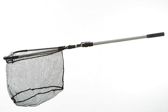 Honoreal teleskop kescher aluminium unterfangkescher faltbar mit