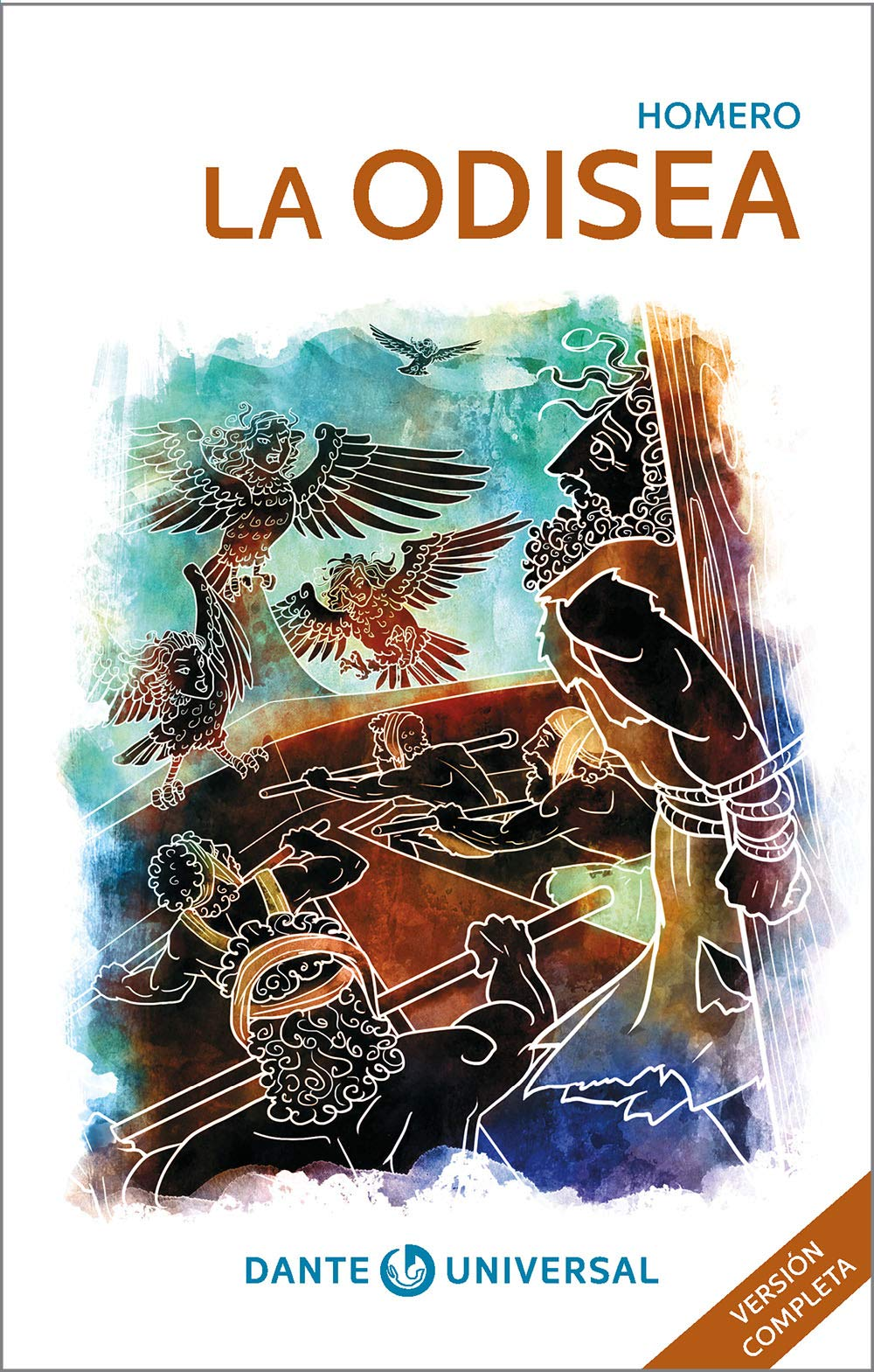 La Odisea. Libro ilustrado de la serie Dante universal.: Homero:  Amazon.com.mx: Libros