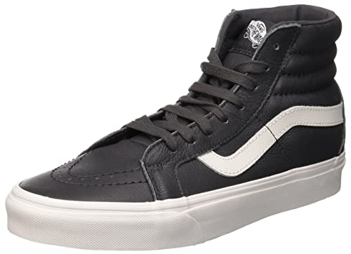 Vans Sk8 Hi Slim Zip, Sneakers Hautes mixte adulte, Gris