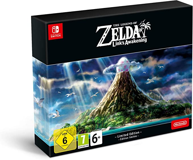 Zelda Links Awakening Remake - Edición Limitada: Amazon.es ...
