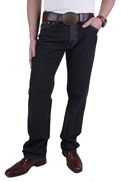 Hugo Boss Pantalones Vaqueros De Hombre Texas Negro Raya ...