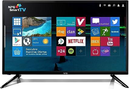NPG TELEVISOR LED 40 TVS411L40F: Amazon.es: Electrónica