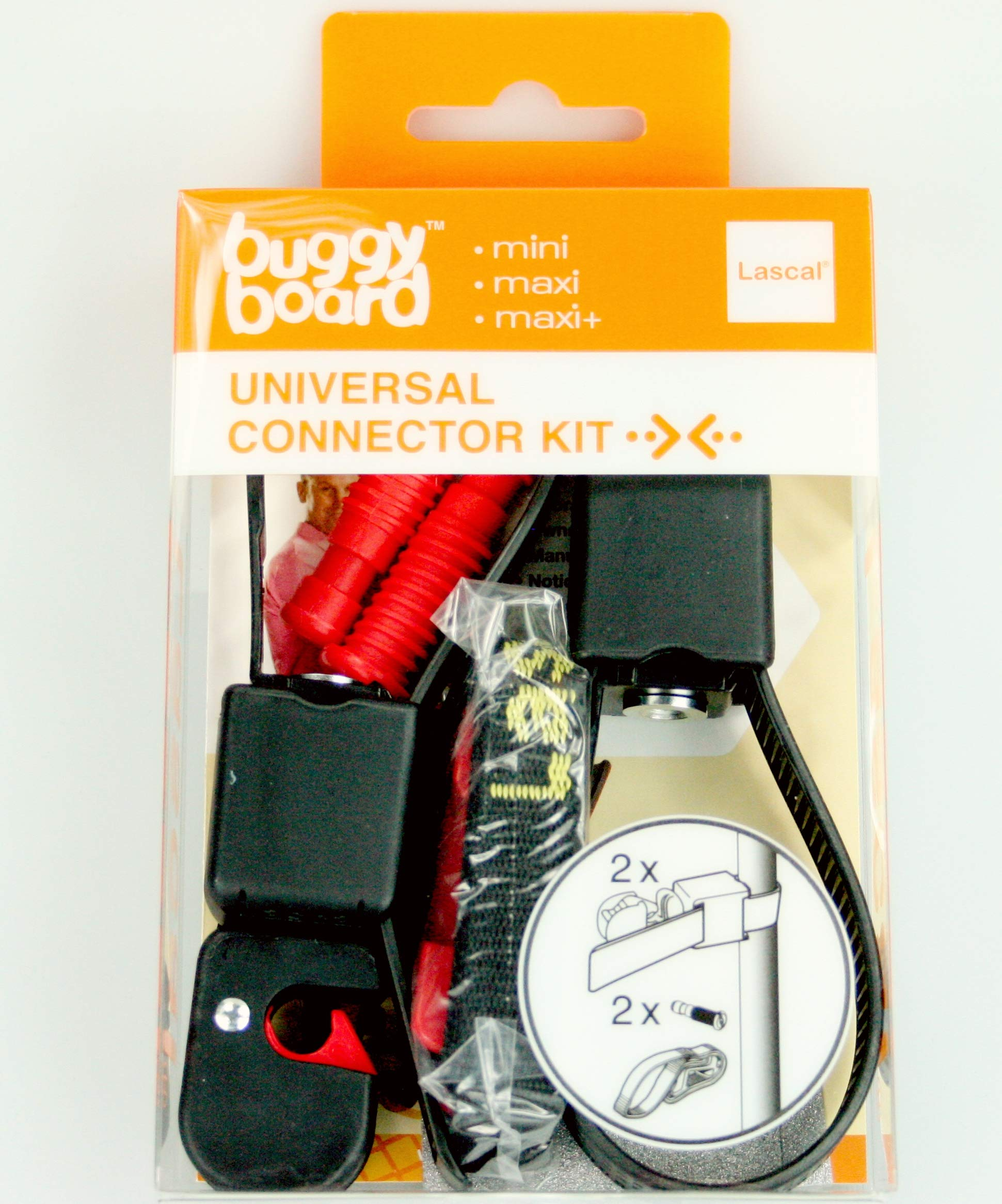 Lascal Buggyboard - Universal Connector Kit