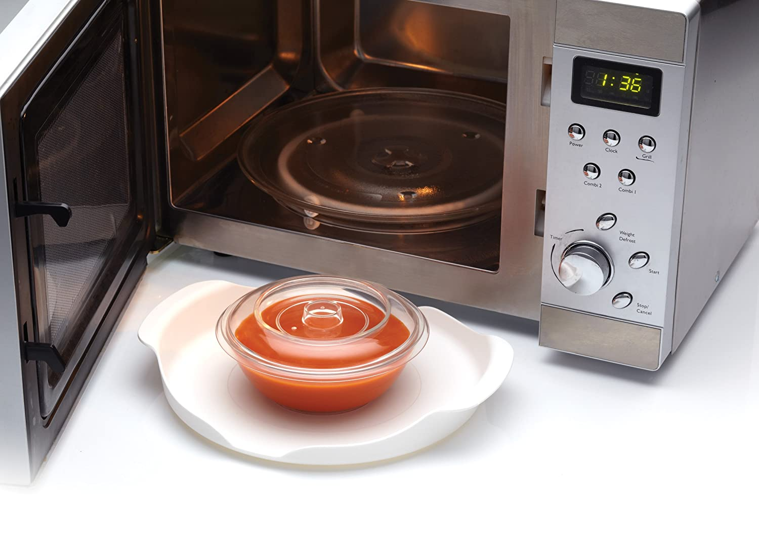 23cm Microwave Carrying Tray