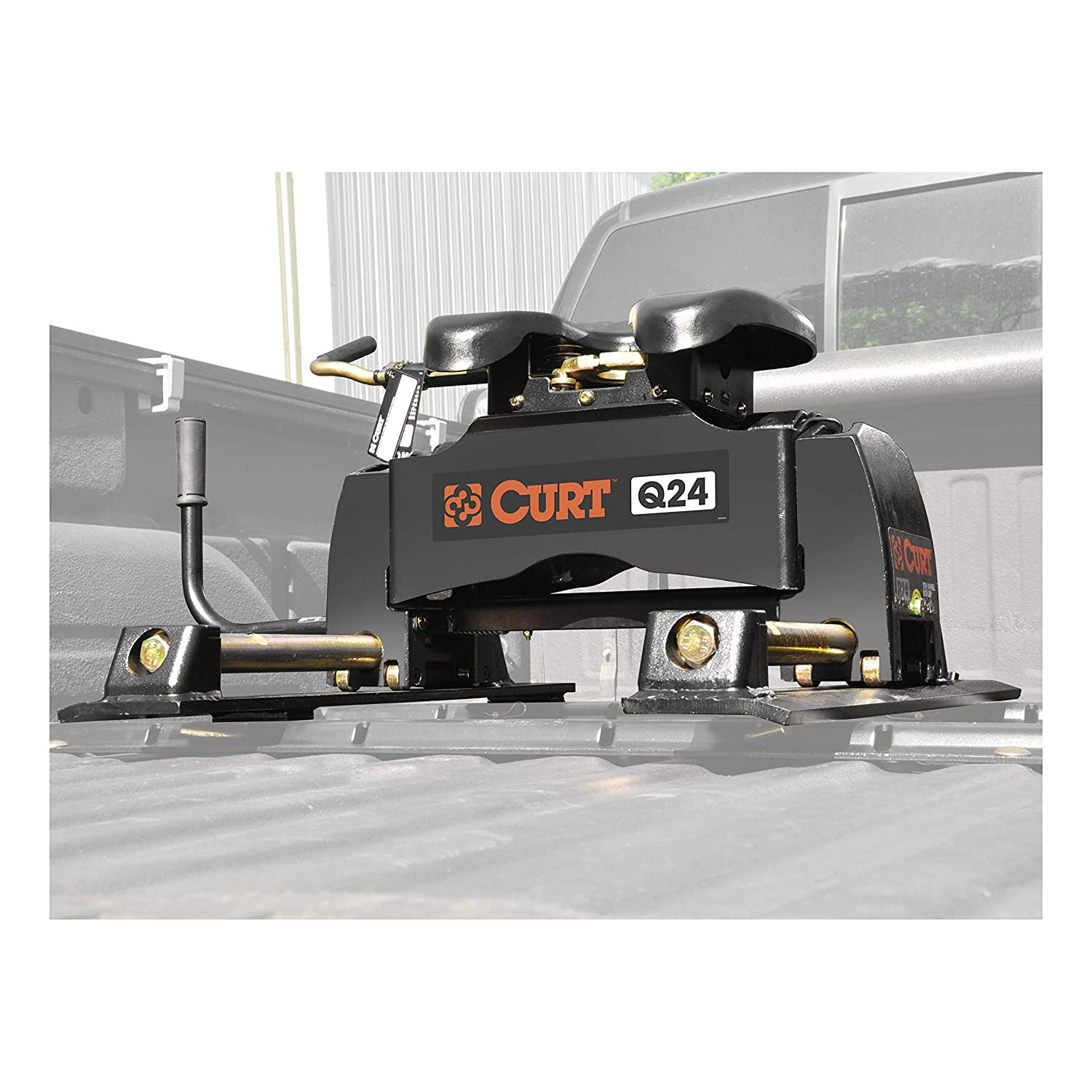 24K Curt 16546 Fifth Wheel Hitch Head And Roller Base