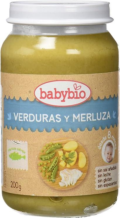 Babybio Potito de Verduras con Merluza - 200 gr