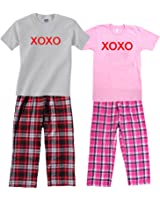 Pajamas for Couples - XOXO Love Jams; Each Shirt-Pant Set Sold Separately