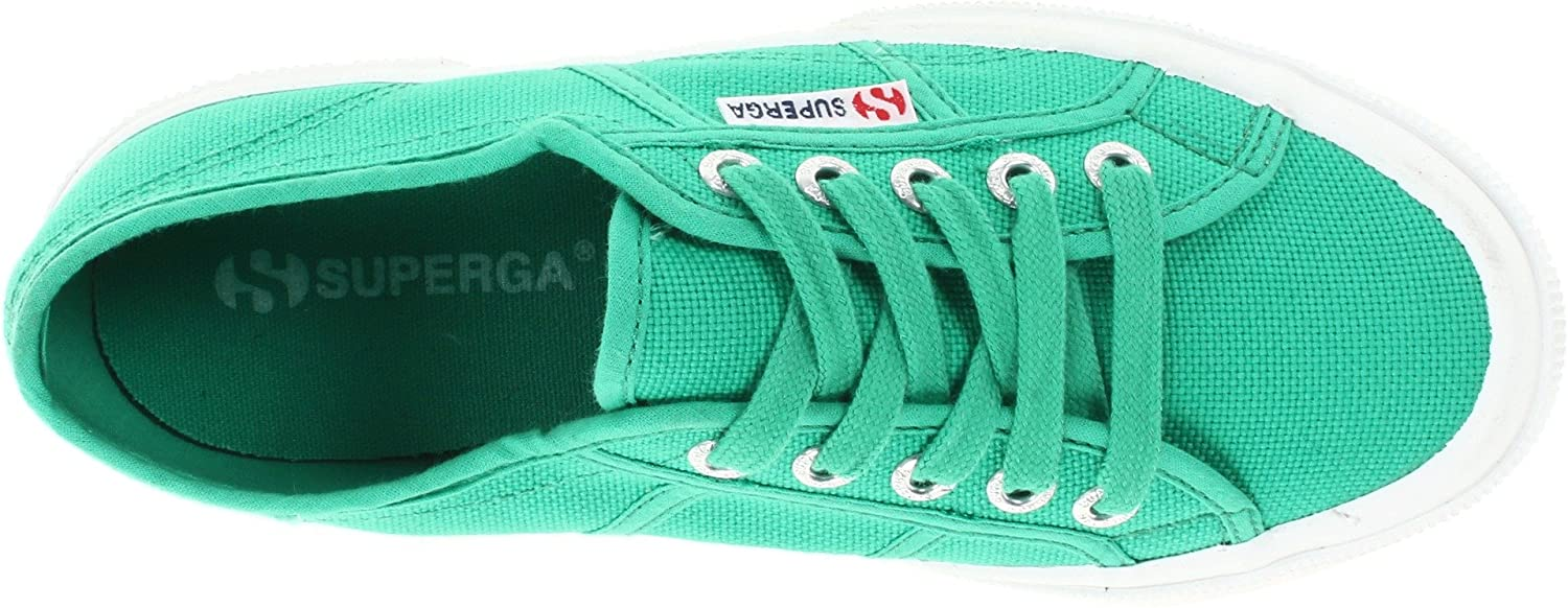 Superga 2750 Cotu Classic 2 B00CRFKCPY 41 EU/10 M Women's US/7 M Men's US|Green Fabric