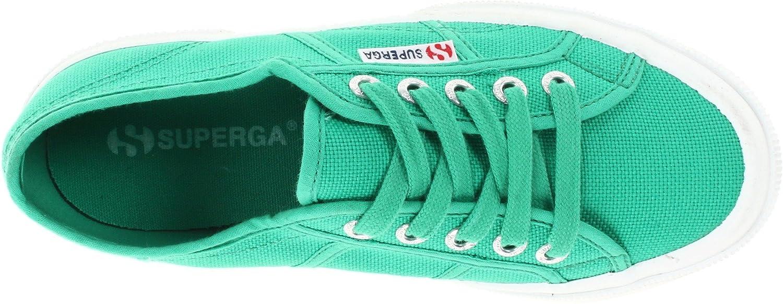 Superga 2750 Cotu Classic 2 B00CRFKFFG 42 EU/10.5 Women's/9 Men's M US|Green Fabric