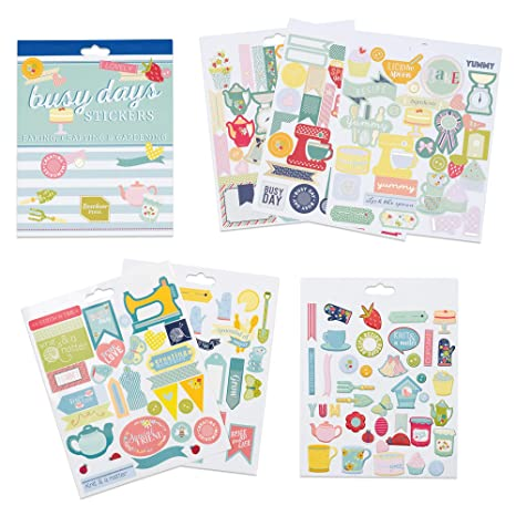 Pegatinas para scrapbooking, agendas, planners y el planner Busy Days de Boxclever Press. Una selección de pegatinas de distintos temas. Pegatinas ...