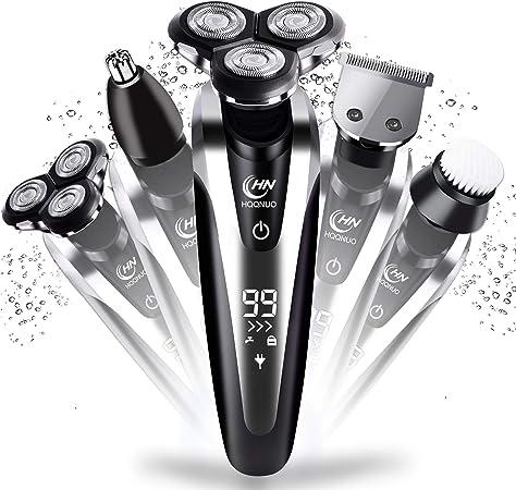 BaByliss MEN T831E | Barbero Especial Barba Larga, Con/Sin Cable, 60 min Autonomía, 2x Guías de corte 0,5-20mm y 16 ...
