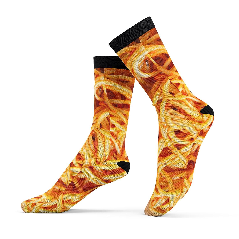 Amazon com: Spaghetti Socks, Pasta Socks, My Spaghet Socks (One size