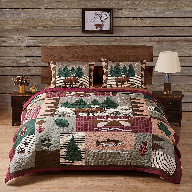 FULL size Moose Quilt
