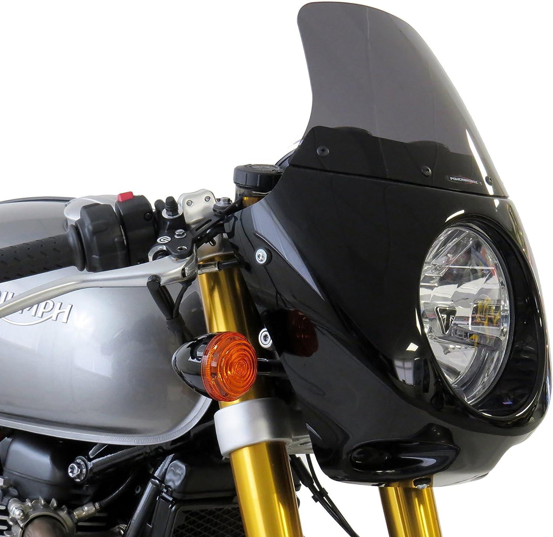 TRIUMPH THRUXTON 1200 / THRUXTON R 16-20 Black Nose Fairing - Powerbronze:  Amazon.co.uk: Car & Motorbike