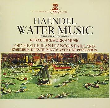Amazon | ヘンデル:水上の音楽、...