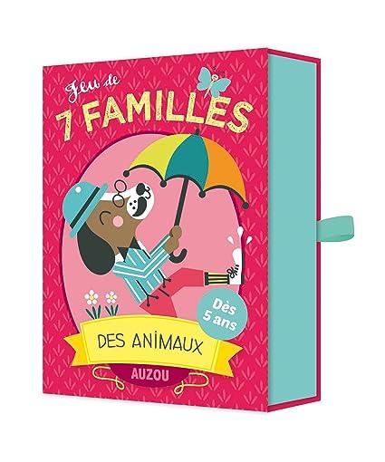 Amazon.com: jeu de 7 familles des animaux: Toys & Games