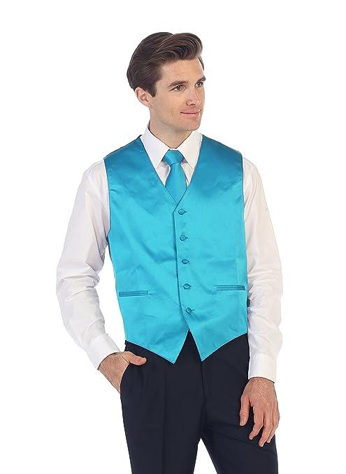 Gioberti Men\'s Formal Vest, Bowtie, Tie, Pocket Square, 4 Piece Set ...