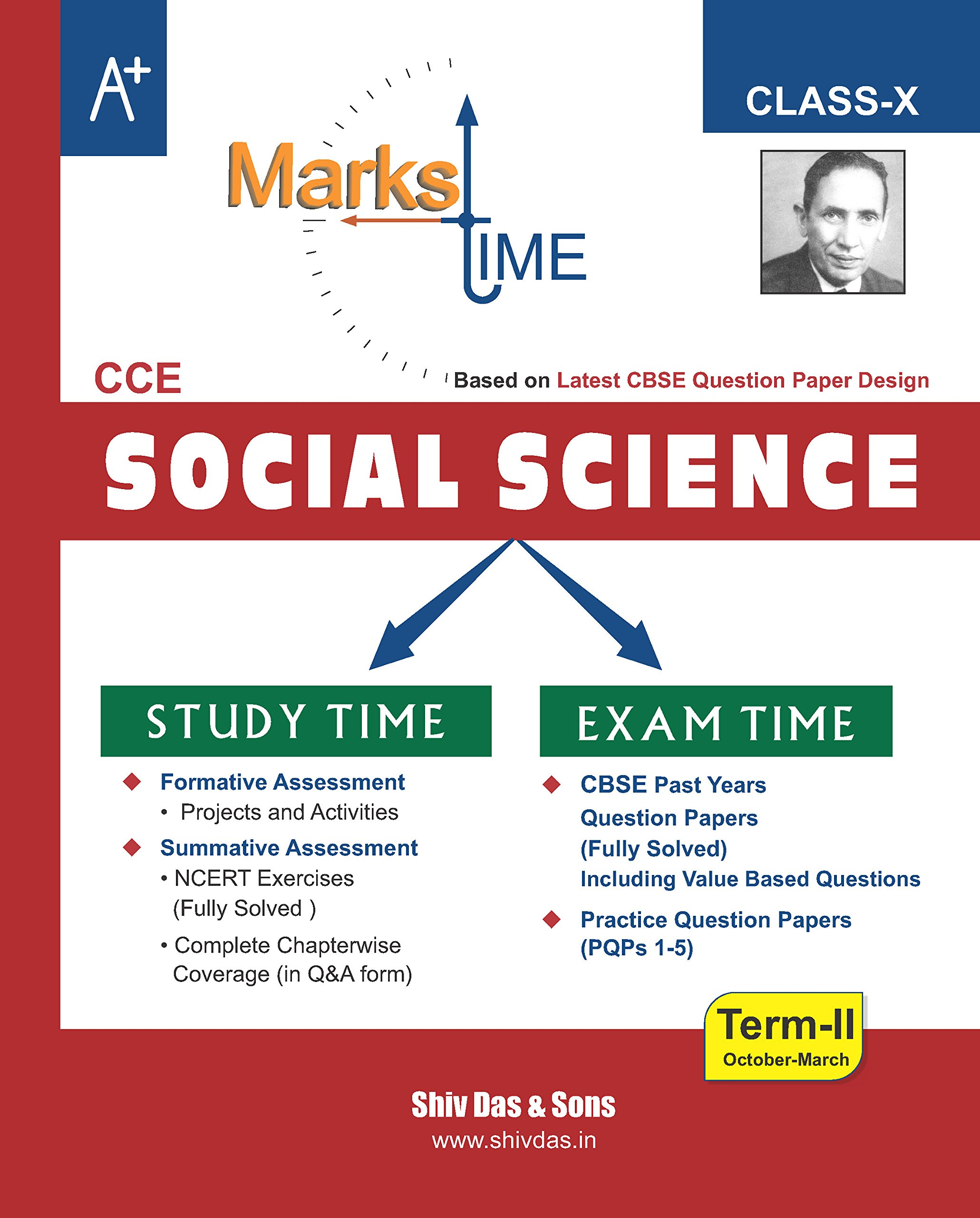 Marks Time-CBSE-Class 10-Social Science-Term2-Revision Book: Amazon.in:  Shiv Das and Sons: Books