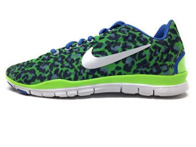 NIKE Free TR Fit 3 Printed Womens Cross Training Shoes 555159-300 Flash  Lime 8.5