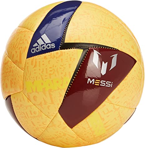 adidas Messi - Pelota de fútbol, Color Naranja - Solar Gold/Amazon ...