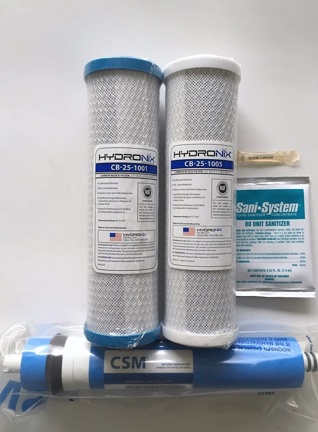Smart Water Filters Amazoncom Ge Hydronix Smart Water Ro Gxrm10g Pre Post Filters