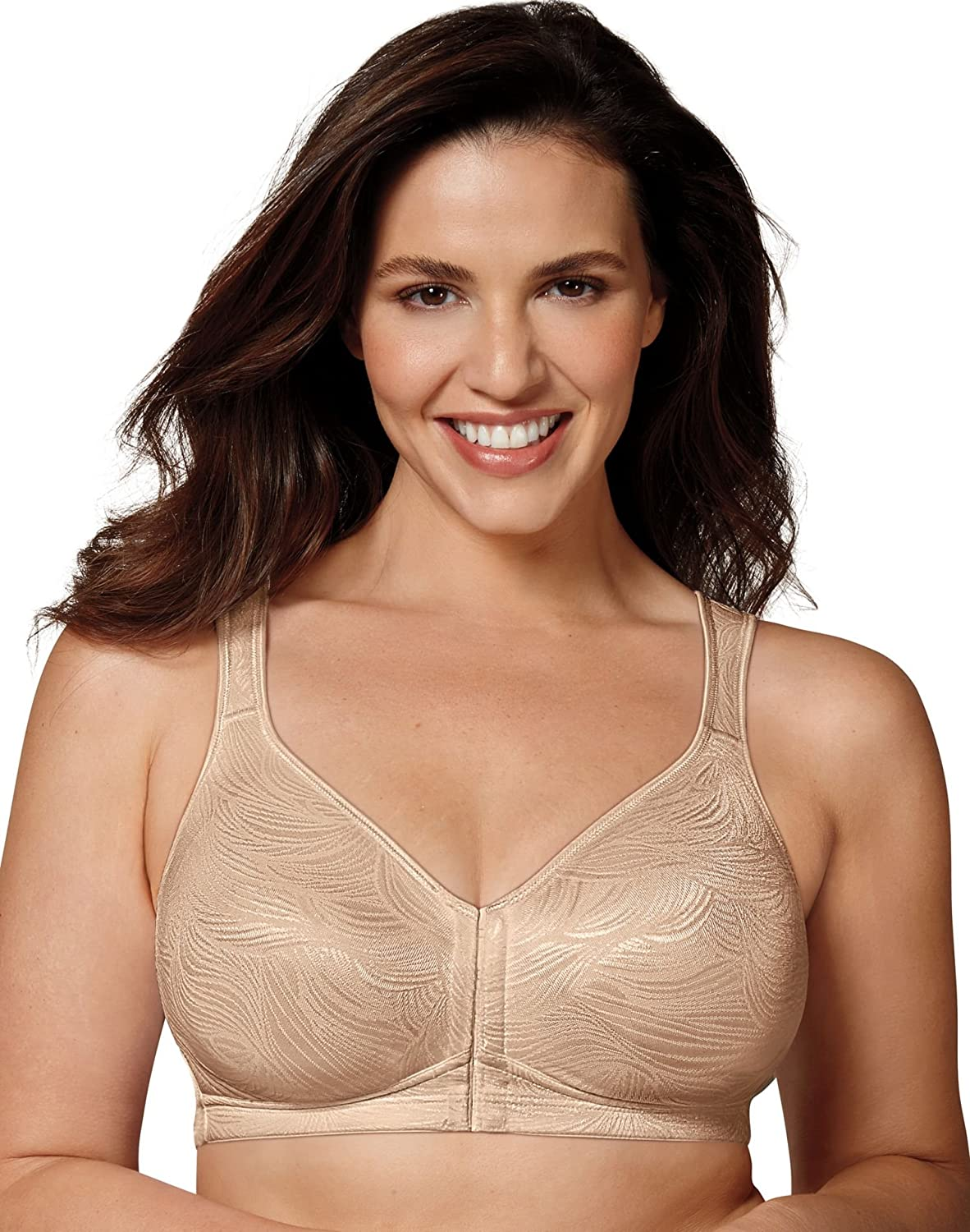 8144366741a56 Playtex 18 Hour Front Close Posture Bra at Amazon Women s Clothing store