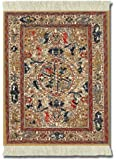 MouseRug APC-1 Asian Collection Mouse Mat - Dusty-Gold Ancient Oriental Pattern