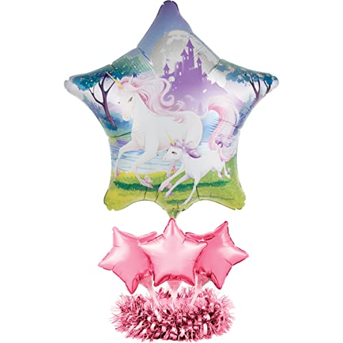 Creative Converting Balloon Centerpiece Kit Unicorn Fantasy