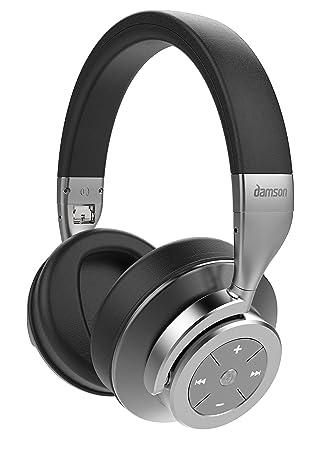 Damson Auriculares con cancelación de Ruido Activa, Bluetooth, inalámbricos: Amazon.es: Electrónica
