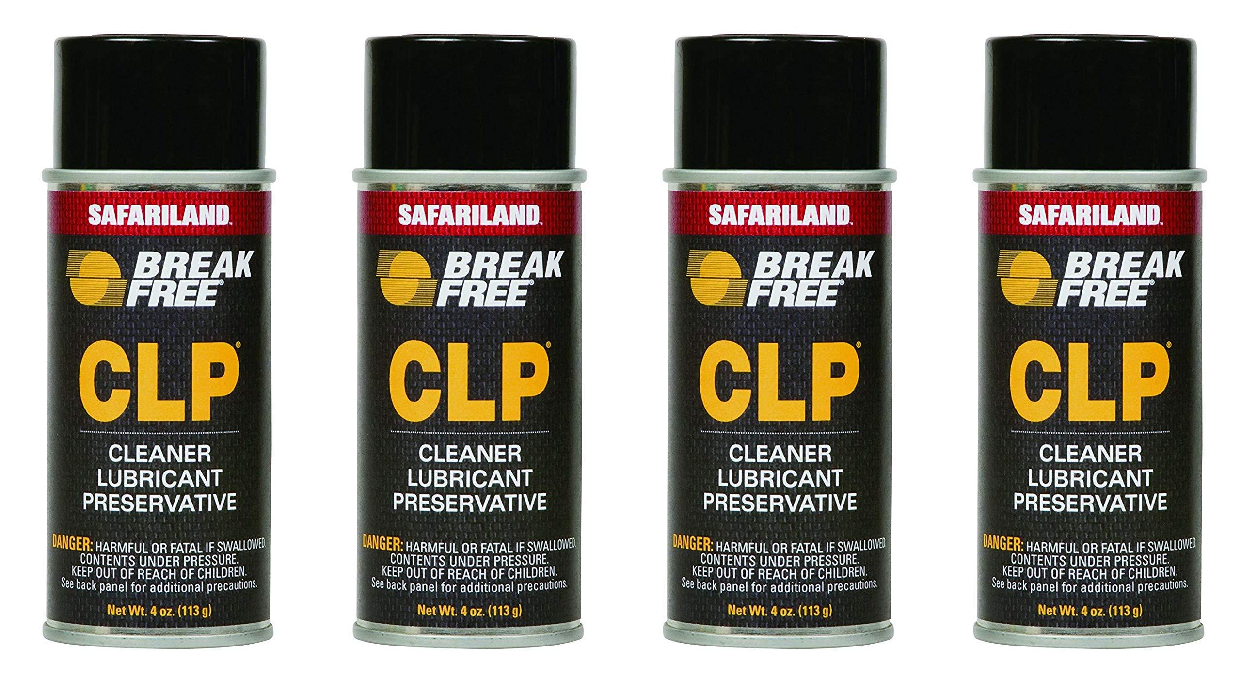 BreakFree. CLP-2 Cleaner Lubricant Preservative 4 oz (113.4 Gram) Aerosol (4 Pack) by BreakFree.