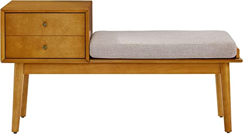 Crosley Furniture Landon Entryway Bench – Acorn
