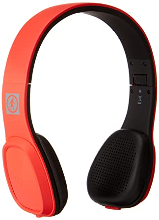 Outdoor Tech Los Cabos - Auriculares de diadema cerrados, con Bluetooth, color negro y rojo: Outdoor Tech: Amazon.es: Electrónica