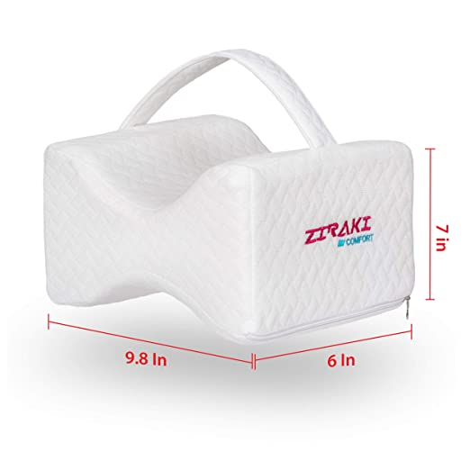 Amazon.com: ZIRAKI Memory Foam Wedge Contour Orthopedic Knee ...