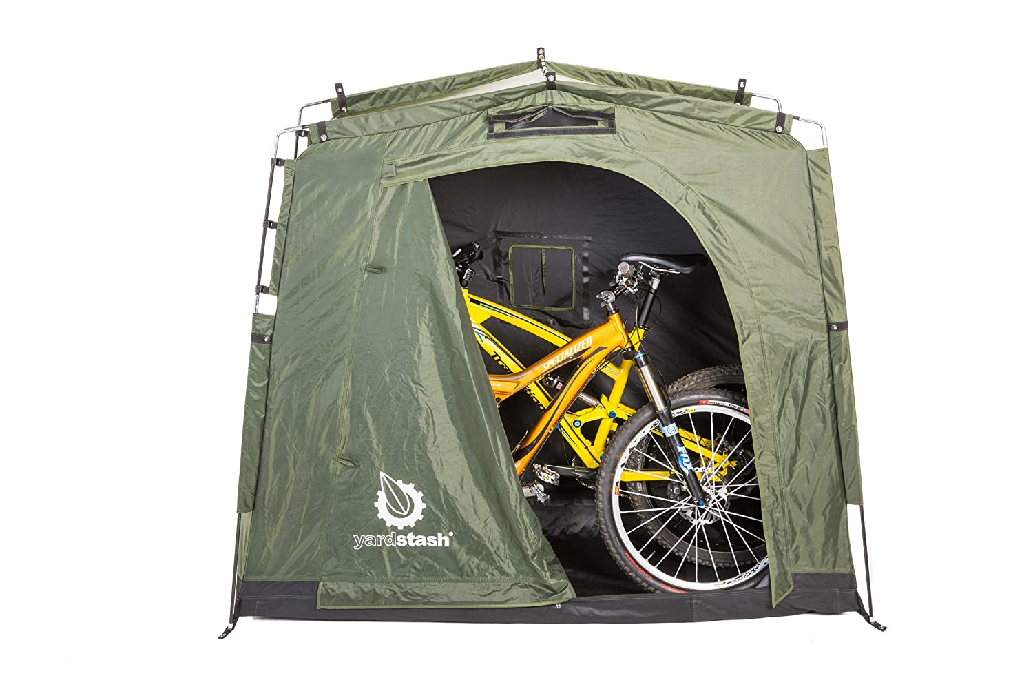 Amazon.com: The YardStash III: Space Saving Outdoor Bike Storage, Garden  Storage and Pool Storage: Home Improvement