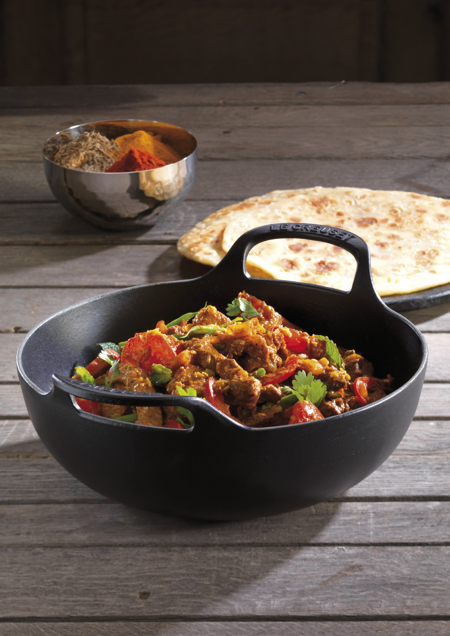 Le Creuset Lifetime Guarantee: Le Creuset L2042-2420 Enameled Cast Iron 3 Quart Balti