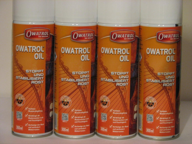 4 x Owatrol Ö l Rostschutz/Rostversiegelung 300 ml Sprü hdose