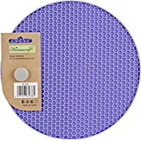 Harmony Silicon Baking Mats Trivet - Round, Purple