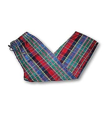 Polo Ralph Lauren Men S Plaid Woven Pajama Pants Medium Multi