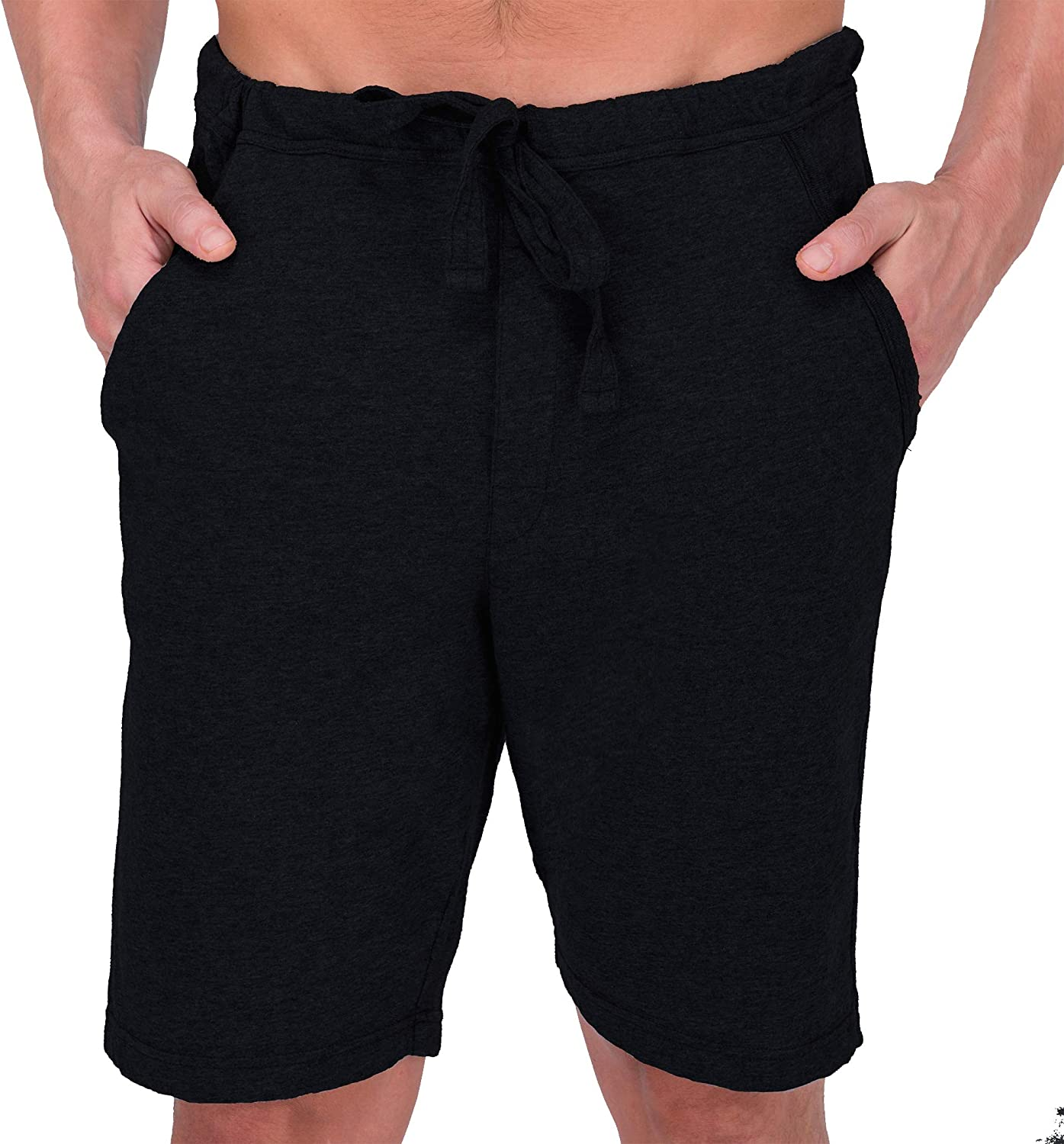 Cottonique Men's Hypoallergenic Lounge Short Made from 100% Organic Cotton …