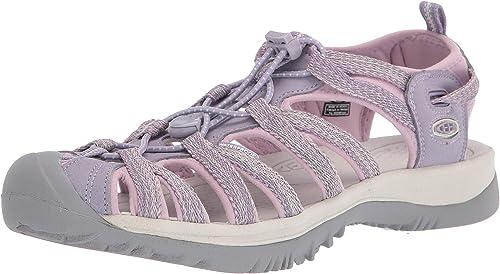Keen Femme Whisper Chaussures De Marche Sandales-Gris rose violet Sports Outdoors