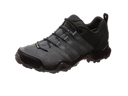adidas Terrex Ax2R GTX, Stivali da Escursionismo Uomo, Nero (Negbas/Negbas/Gricin 000), 42 2/3 EU