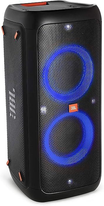 Oferta amazon: JBL PartyBox 300 - Altavoz inalámbrico portátil con Bluetooth, parlantes con efectos de luces, resistente al agua, hasta 18h de reproducción, negro