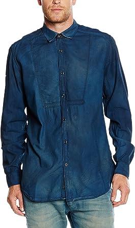 Diesel Camisa Vaquera Azul L: Amazon.es: Ropa y accesorios